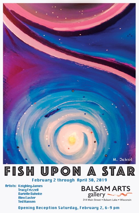 Fish Upon a Star Poster