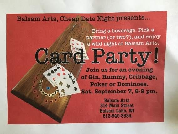 card party2 Sep 2019